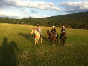 Riding Trip with Family